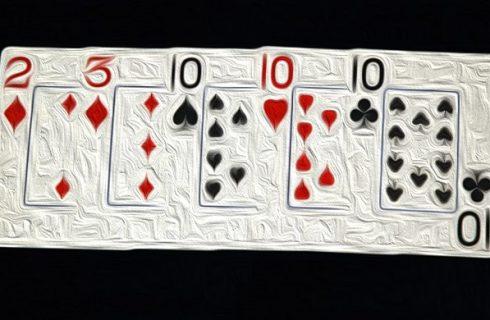 Комбинация сет в покере (тройка)