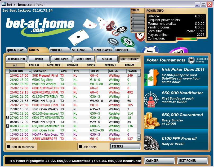 BAH-Pokerlobby