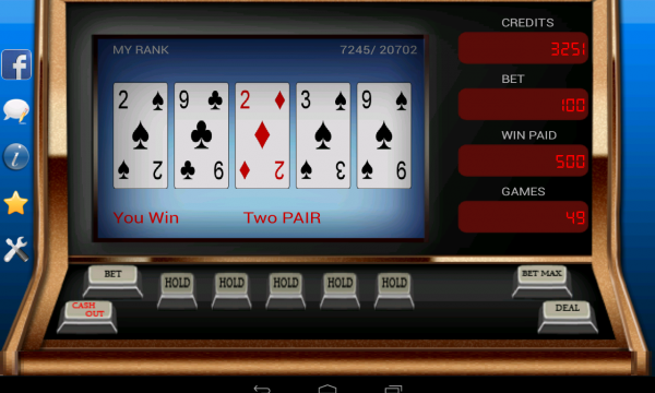 Видео покер онлайн
