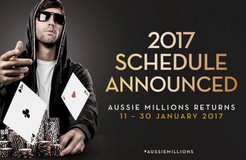 Основное событие в Aussie Millions 2017 едва не поставило рекорд по количеству участников