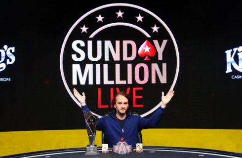 Филипп Салевски победил на своем первом живом турнире Sunday Million