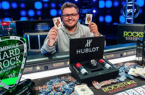 2018 World Poker Tour Seminole Hard Rock Poker Showdown завершился победой британского покериста