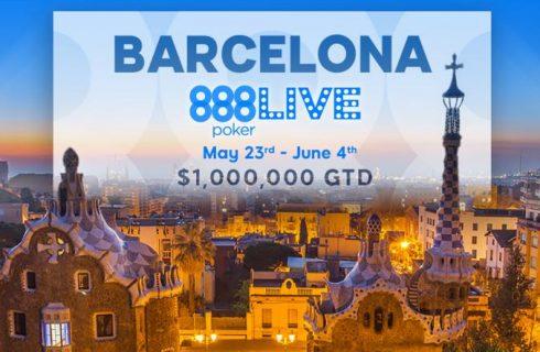 888poker LIVE Barcelona Festival начинается через месяц