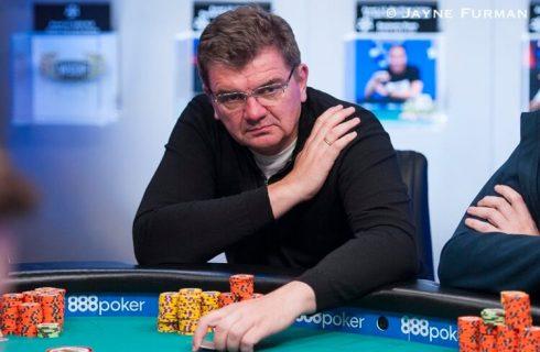 Лахов занял восьмое место в шутаут турнире по безлимитному холдему