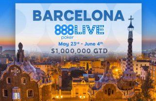 Андреа Саламон лидирует после дня 1с на Главном событии 888poker LIVE в Барселоне
