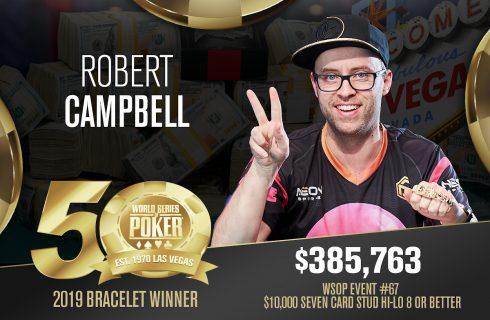 Игрок года WSOP – Кэмпбелл завершил летний отрезок на 1 месте